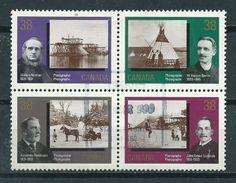 1989 Canada Complete Set/block Of 4 Photography Used/gebruikt/oblitere - 1952-.... Regering Van Elizabeth II