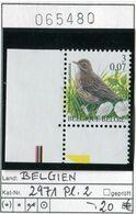 Buzin - Belgien - Belgique - Belgium - Belgie - Michel 2971 - Vögel Buzin Oiseaux Birds -  - ** Mnh Neuf Postfris - 1985-.. Oiseaux (Buzin)