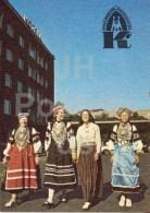 Women In Folk Costumes - Estonian National Insurance - Calendar - 1989 - Estonia USSR - Unused - Calendriers