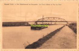 CPA VIERSEL DIJK HET ALBERTKANAAL EN BRUGZICHT LE CANAL ALBERT ET VUE DU PONT - Zandhoven