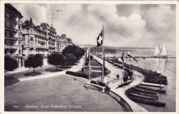 Genève : Quai Président Wilson - Obl.18.II.1937 - GE Ginevra