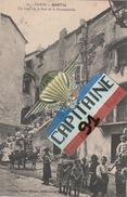 CPA BASTIA HAUTE CORSE UN COIN DE LA RUE FONTANICCHIA - Bastia