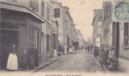 VILLECRESNES   Rue De CERCAY   ( Plan Animé ) - Villecresnes