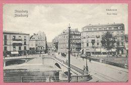 67 - STRASSBURG - STRASBOURG - Küssbrücke - Pont Küss - Strasbourg