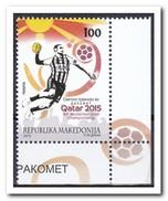 Macedonië 2015, Postfris MNH, Handball - Macedonië