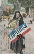 CPA TYPE CORSE PORTEUSE DE LAIT - France