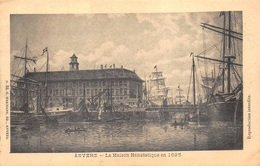 Anvers Antwerpen  La Maison Hanséatique En 1895        I 485 - Antwerpen