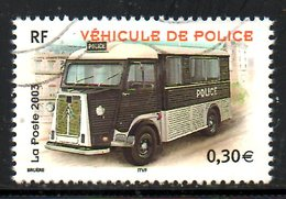 FRANCE. N°3616 De 2003 Oblitéré. Véhicule De Police. - Police - Gendarmerie