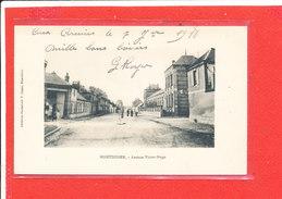80 MONTDIDIER Cpa Petite Animation Avenue Victor Hugo   Edit Gigau - Montdidier