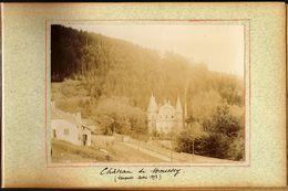 Unique: Sénones 88 Vosges Mai 1893 . Chateau De Moussey - Anciennes (Av. 1900)