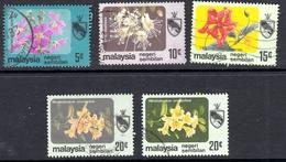 N. Sembilan 1983-4 No Watermark Set SG112-5a - Used - Negri Sembilan