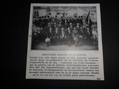 "Origineel Knipsel ( 463 ) Uit Tijdschrift  "" Ons Volk Ontwaakt "" :  Reckheim   Rekem  1928 - Ohne Zuordnung"