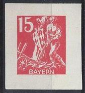 Bayern 1920 15pf Essay (**) MNH Mi.180 - Bavière