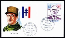 A4927) France Territory Antarctic FDC 1980 - Französische Süd- Und Antarktisgebiete (TAAF)