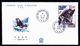 A4928) France Territory Antarctic FDC 1978 TAAF - Terres Australes Et Antarctiques Françaises (TAAF)