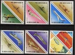 SURINAM Avion, Avions, Plane. Planes, Avion Concorde Boeing DC8, Mi Chel 1223-1234 ** MNH - Concorde
