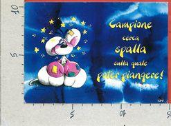 CARTOLINA VG ITALIA - DIDDL - Campione Cerca Spalla ... - 10 X 15 - ANN. 19?? - Diddl