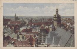 Allemagne - Leipzig - Blick Vom Hochhaus Auf Nikolai Und Thomaskirche - 1935 - Leipzig