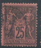 Lot N°37015   N°91, Oblit Cachet à Date - 1876-1898 Sage (Type II)