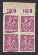 Germany, Scott #224, Mint Never Hinged, Miners, Issued 1922 - Allemagne