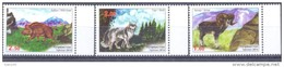 2014. Tajikistan, Tashkent Zoo, Animals, 3v Perforated, Mint/** - Tadschikistan