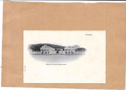 TOULON - 83 - CPA DOS SIMPLE - Hôpital Saint Mandrier - LYO1 - - Toulon