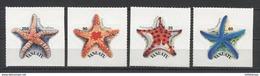 Vanuatu Sea Stars Marine Life 2004 Mi#1204-1207 MNH - Maritiem Leven
