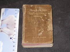 Dictionnaire Français/anglais/français De Bill Sturini Wisconsin Et PIANELLI Lt. 29e Art.18 Group.S36 1945 - 1939-45