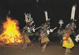 CPM - APACHE INDIAN RITUAL. 1997. Smith-Southwestern, Inc, Arizona. Photo Rico Leffant Flamme, Oblitération Intéressante - Indiens De L'Amerique Du Nord