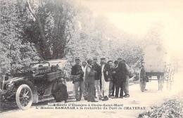 91 - ETAMPES : Route D'ETAMPES à CHALO - SAINT MARD : L'Indou RAMANAH à La Recherche Du Curé De CHATENAY - CPA - Essonne - Etampes