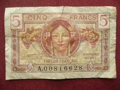 FRANCE Billet De 5 Francs Du Trésor ( Petite Déchirure En Haut ) - Treasury