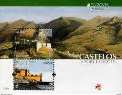 Portugal - Madeira - 2017 - Europa CEPT - Castles - Mint Souvenir Sheet - Madeira