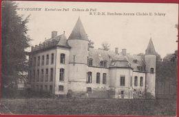 Wijnegem Wijneghem Wyneghem Kasteel Van Pull Chateau De Edit. RVDH Berchem Anvers E Schrey 1909 (kreukje) - Wijnegem