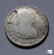 Carlos IV - 4 Reales - 1795 - Santiago - Chile