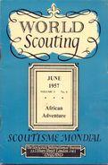 Magazine - Tijdschrift - Scoutisme Mondial - World Scouting 1957 - Bücher, Zeitschriften, Comics