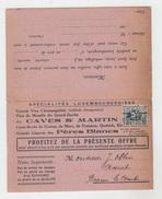 NAMUR / MAISON GEORGES ATTOUT - SPECIALITES LUXEMBOURGEOISES (CARTE DOUBLE) - Namur