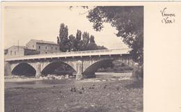 83. VINON .PHOTO CARTE. PONT SUR LE VERDON - France