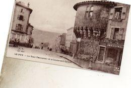 LE PUY  LA TOUR PANNESSAC ET  LE BOULEVARD CARNOT - Le Puy En Velay