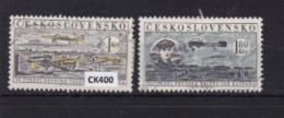 """Cecoslovacchia 1959: Serie Usata """"Centenario Dei Primi Voli Di Jan Kaspar"""". - Cecoslovacchia"""
