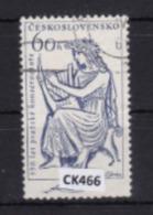 """Cecoslovacchia 1961:  Francobollo Usato Da 60 H. Della Serie """"150° Anniversario Del Conservatorio Di Praga"""". - Tschechoslowakei/CSSR"""