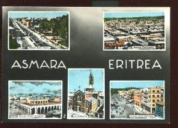 CPSM Neuve Ethiopie Erythrée ASMARA Multi Vues - Eritrea