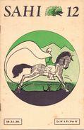 Magazine - Tijdschrift - Revue -  Scoutisme - Scouting - Boy Scouts - Sahi 12 - 1938 - Zonder Classificatie
