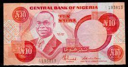 Nigeria-001 - 10 Naira - - Nigeria