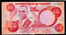 Nigeria-002 - 10 Naira - - Nigeria