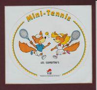 Autocollant  -  MINI-TENIS  -  Les Superten's  -  Fédération Française De Tennis - Autocollants