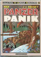 MAX Et J.-L. BOCQUET Panzer Panik 1985 - Libros, Revistas, Cómics