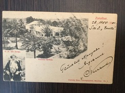 AK  ZANZIBAR   TANZANIA   H.H. THE SULTAN    1902. - Tanzania