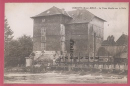 27 - CORNEVILLE SUR RISLE--Le Vieux Moulin Sur La Risle---animé - Francia