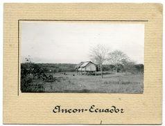 CHRISTMAS CARD : ECUADOR - QUAYAQUIL, ELNCON - 1941 - Vieux Papiers