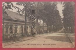 27 - GRAVIGNY---Route De Rouen--Adam--épicerie Cartes Postales--animé - Francia